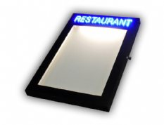 Menu Case LED Sign